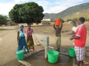 water from borehole near Fat Monkey's